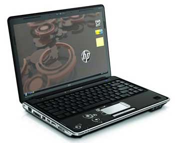La portátil HP Pavilion DV4